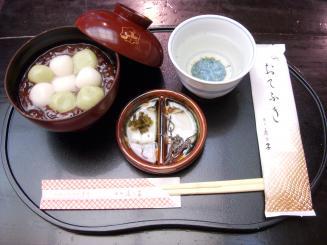 銀座 鹿乃子(白玉ぜんざい)