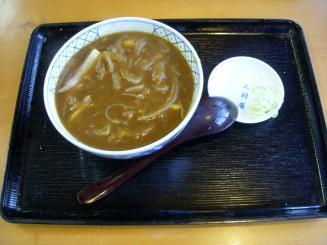 三朝庵(カレー南ばん¥780)