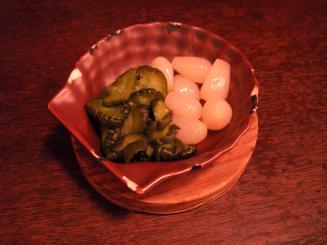 ビストロ喜楽亭(セットの薬味)