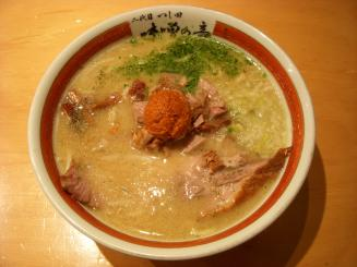 つじ田 味噌の章(辛味噌らーめん¥900)