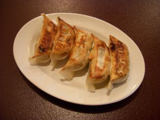 中華そば ふくもり(黒ぶた餃子¥400)