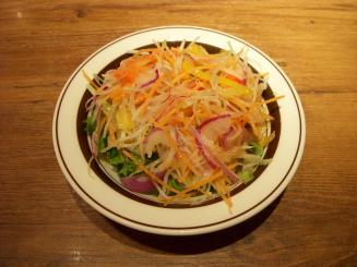 ミート矢澤(セットのサラダ)