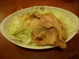 洋食屋 新宿アカシア(オイル焼+ロールキャベツ1貫(ライス付)¥1300)
