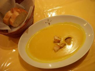 Guccina(セットのかぼちゃのスープ)
