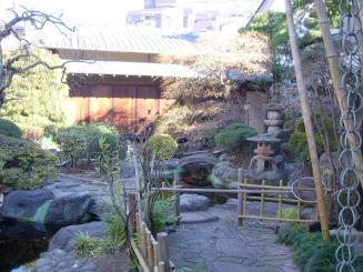 喫茶 城山(お庭)