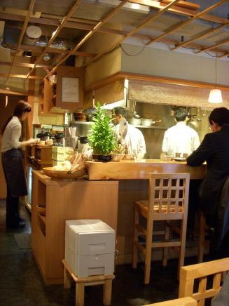 蕎楽亭(店内)