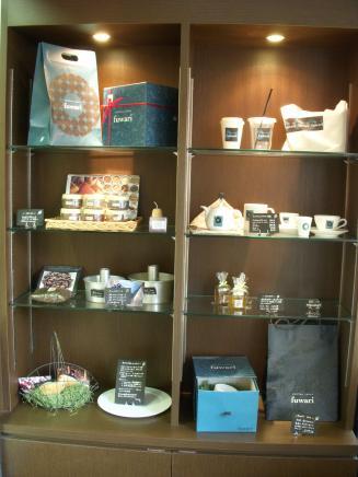ciffon cakes fuwari(物販コーナー)