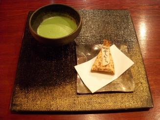ちもと(八雲もち・抹茶¥630)