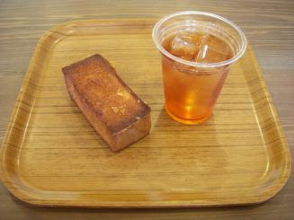 Boulangerie Sudo(ハニートースト¥280・アイスティー¥200)