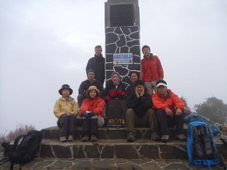 LAWU山頂