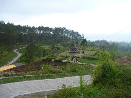 群お寺の遺跡