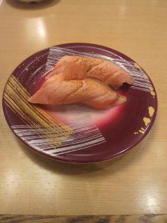20111023トロサーモン炙り
