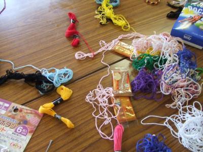 刺繍糸のタバ
