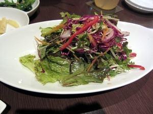 チョロギサラダ