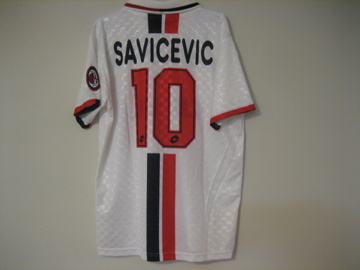 ACミラン 95-96(A)#10サビチェビッチ #1