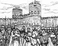 アウレリアヌス帝と近衛軍団、アウレリアヌスの城壁