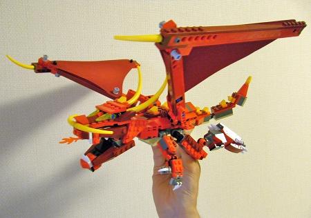 レッドドラゴン6751-頭組み換え1