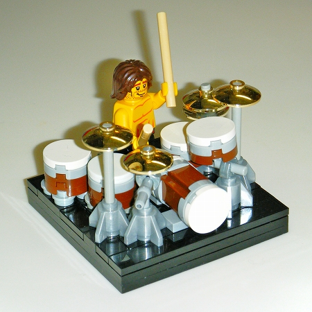 001-rock drum kit