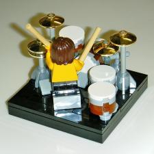 003-rock drum kit