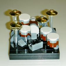 005-rock drum kit