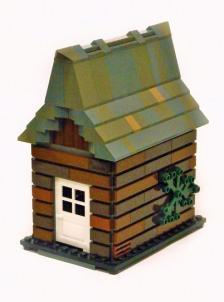01 Log cabin