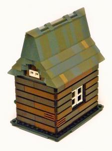 02 Log cabin