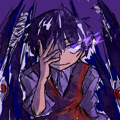 きょうのプライドさんは目が紫だったからあの作画さんだ・・!という会話を、いつも架無としているのです。^ω^