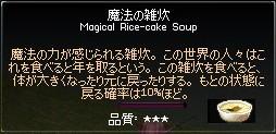 魔法の雑炊