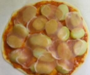 スパゲティピザ8