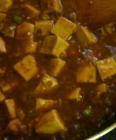 大豆の麻婆豆腐12