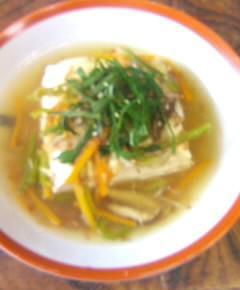 豆腐の五色あんかけ13