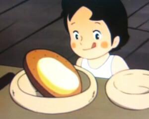 ハイジのチーズパン図