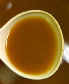 赤玉菜飯の澄まし汁6