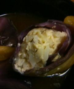 赤玉菜飯の澄まし汁17