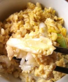 豆腐の親子丼8