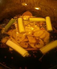 鉄鍋のジャンラー油11