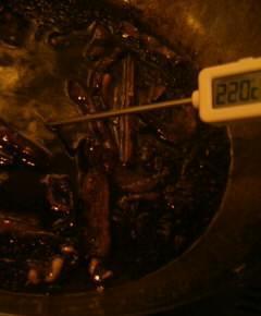鉄鍋のジャンラー油15