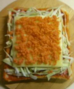 ピザトーストのシャンチョビ味8