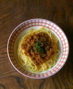 スパゲティ・アッラ・ボロネーゼ14