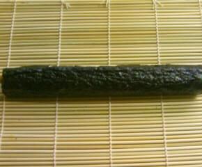 鰹節と納豆の海苔巻き10