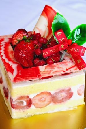X'mas ケーキ1