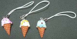 アイスクリーム ストラップ