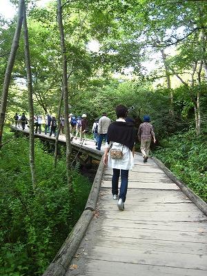 河童橋への道