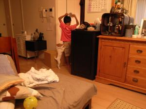 子供部屋の道