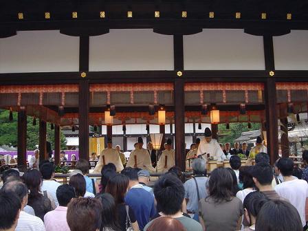 下賀茂神社神事