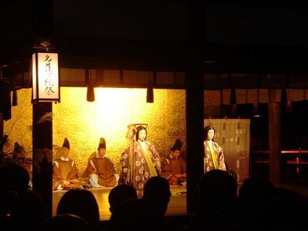 下賀茂神社舞い