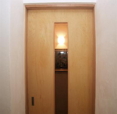 玄関のライト