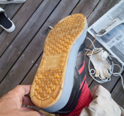 煙突掃除_靴