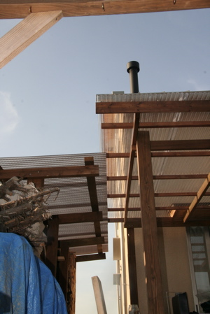 屋根重なり