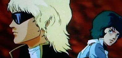 Zガンダム オープニング画像 クワトロとカミーユ